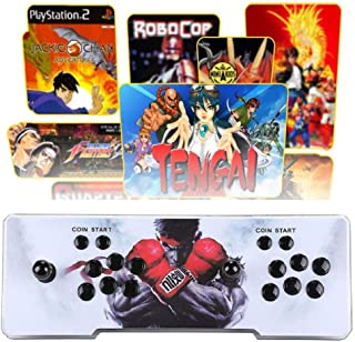 Vemac 3D Pandora Box add Additional Games with Full HD Arcade Console Upgraded CPU 2 Players Pandoras Box 9s Video Game Console with Arcade Joystick Support HDMI VGA USB
