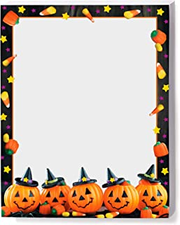 Halloween Sweets Border Papers, Eco-Friendly, 25 Count