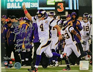 Brett Favre Minnesota Vikings HOF Autographed 8x10 Signed Photo #/500 Authentic