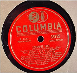 Will Bradley & His Orchestra Featuring Ray McKinley Near Mint Original 10 Inch 78 rpm - Scramble Two / Rock-A-Bye The Boogie - Columbia Records 35732 - 1940