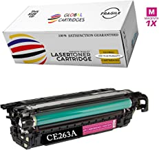 GLB Premium Quality Remanufactured Replacement for HP 648A Magenta CE263A Toner Cartridge For HP Color LaserJet CP4520, CP4025, CP4025N, CP4025DN, CP4525N, CP4525DN, CP4525XH