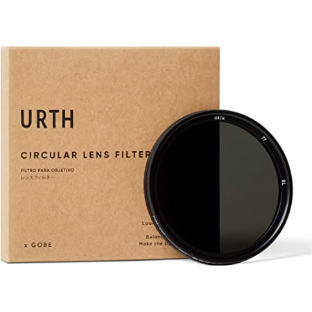 Urth 77mm ND2-400 (1-8.6ストップ) 可変調整可能NDレンズフィルター