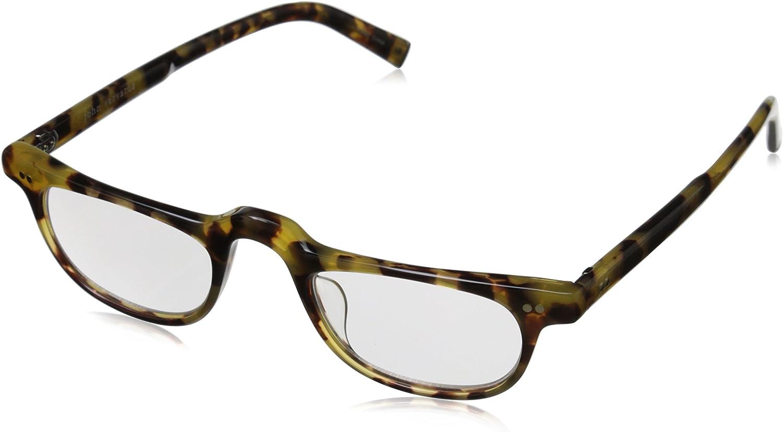 John Quality inspection Varvatos Men's Latest item V804 Rectangular Tokyo Tort Reading Glasses