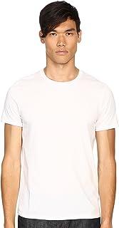 Vince Men's Favorite Pima Cotton Short-Sleeve Crew-Neck T-Shirt, Optic White, XX-Large