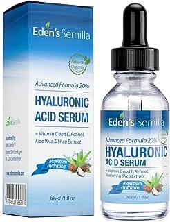 Ácido Hialurónico Serum - 30ml - Es el mejor anti-edad hidratante para el cutis. Ayuda a reducir las arrugas faciales. Con...