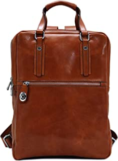 fossil estate backpack leather