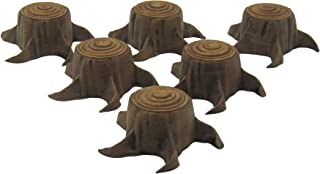 EnderToys Tree Stumps, Terrain Scenery for Tabletop 28mm Miniatures Wargame, 3D Printed and Paintable