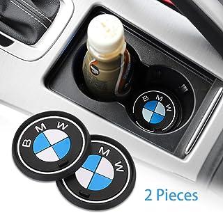 Cup Holder Coaster Auto Interior Decoration Pad YOJOHUA 2.75 Inch Vehicle Travel Car Interior Accessories for BMW M 2 PCS
