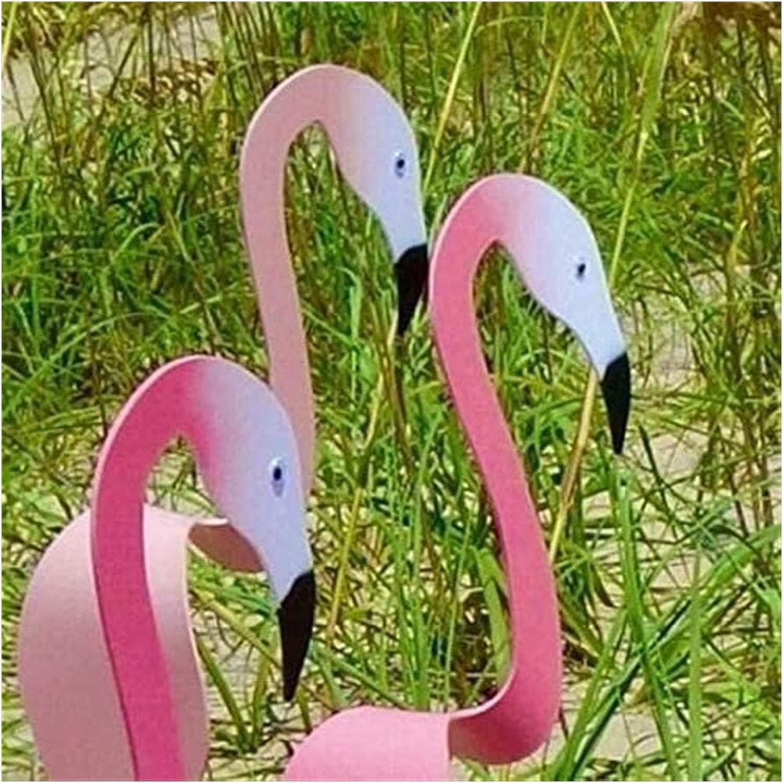 Der Mit Der Leichten Gartenbrise Spinnt Flamingo Windspiele F/ür Home-Terrasse Backyard Party Decor Wunderlicher Und Dynamischer Vogel Color : Blue Flamingo , Size : 3PCS Wirbelvogel Flamingo