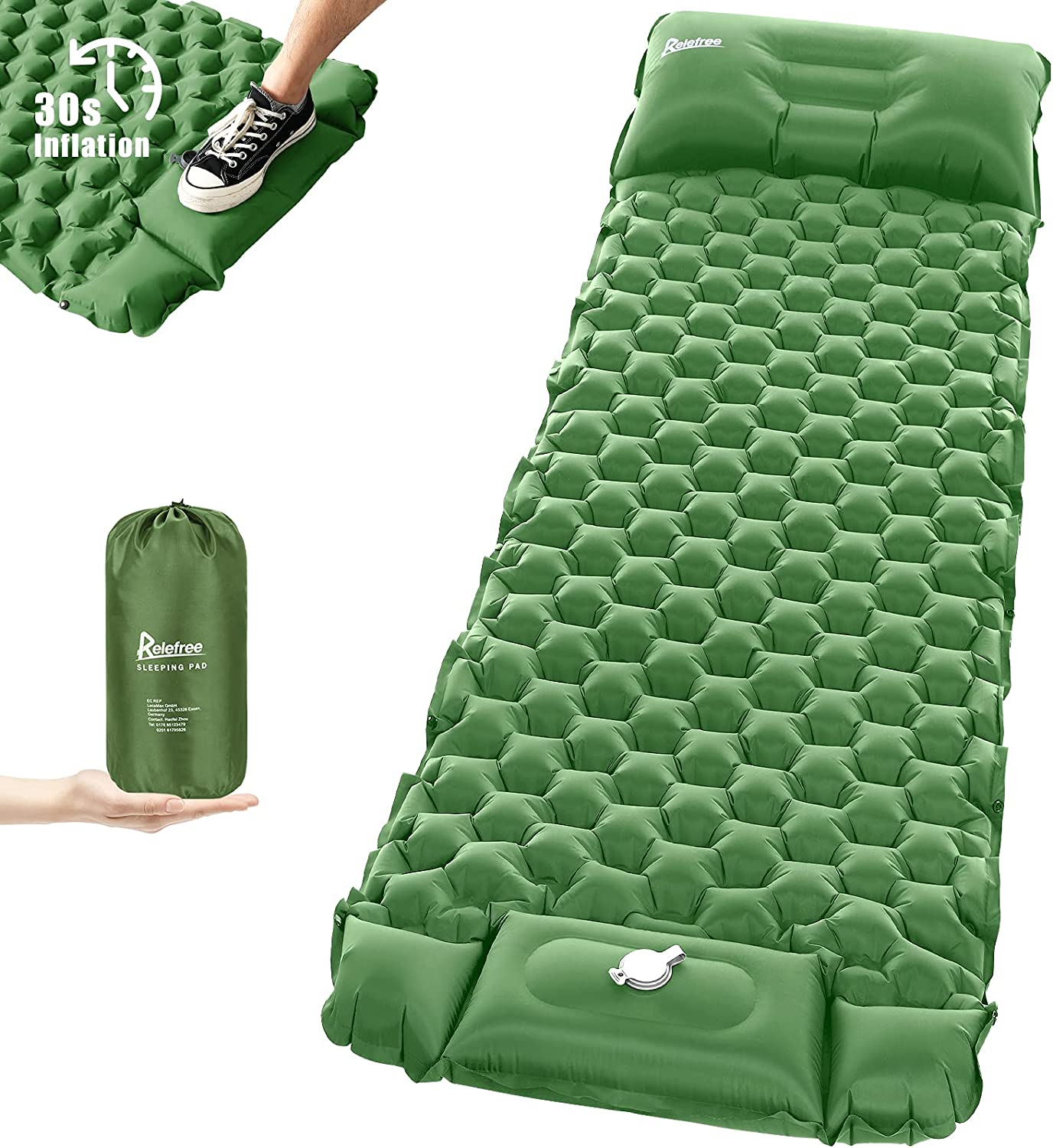 Relefree Sleeping Pad for Pump Recommended Cheap SALE Start Ultr Built-in Camping
