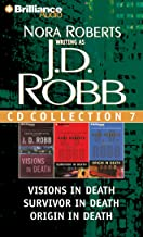 J. D. Robb CD Collection 7: Visions in Death, Survivor in Death, Origin in Death (In Death Series)