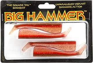 Big Hammer Swimbait, Redrum, 4-Inch