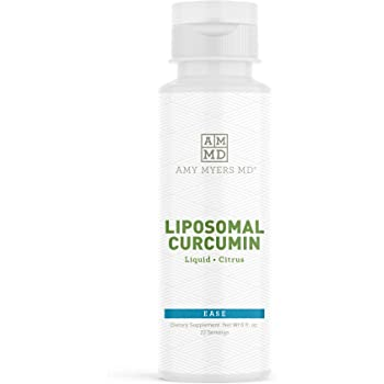 Liquid Liposomal Curcumin from Dr. Amy Myers - Supports a Healthy Inflammation Response – Citrus Flavor Dietary Supplement 8 fl. Oz, 22 Servings