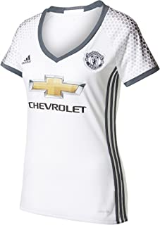 adidas 2016-2017 Man Utd Womens Third Football Soccer T-Shirt Jersey