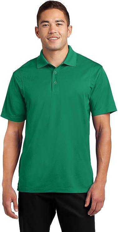Black//Gray Mint Condition Size L Details about  /Men/'s Sport Tek Polo T-Shirt
