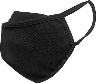 Simba Reusable 3 Layer Nose Fit Black Mask, Black