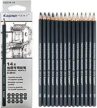 Drawing Pencils 14pcs/set 12B 10B 8B 7B 6B 5B 4B 3B 2B B HB 2H 4H 6H Graphite Sketching Pencils Professional Sketch Pencils Set for Drawing
