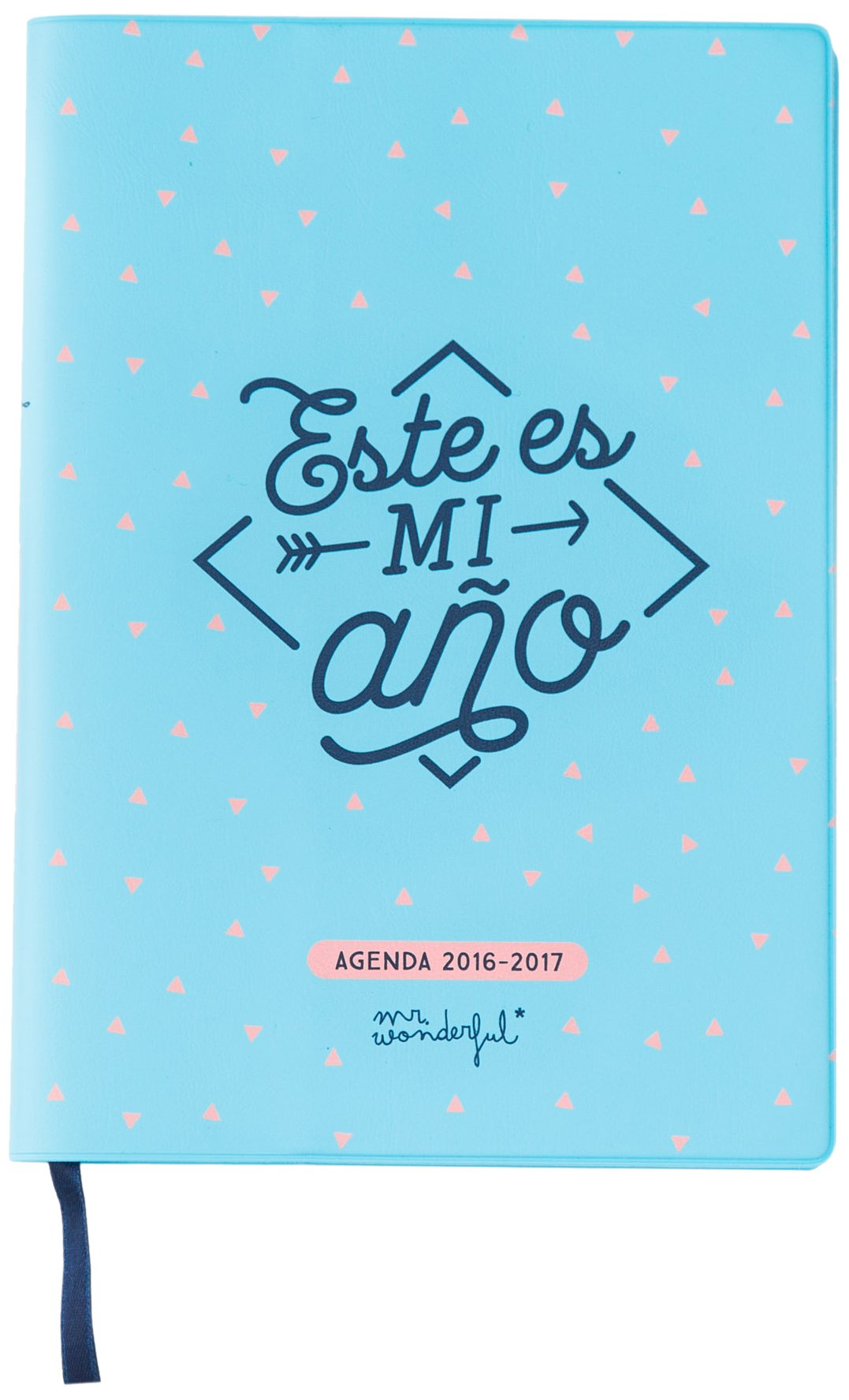 Mr. Wonderful - Agenda pequeña 2016-2017