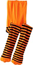 orange dance tights