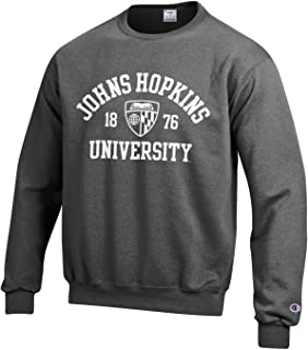 Johns Hopkins University Champion Crew Neck Sweatshirt
