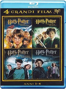 harry potter - 4 grandi film #01 (4 blu-ray) box set blu_ray Italian Import