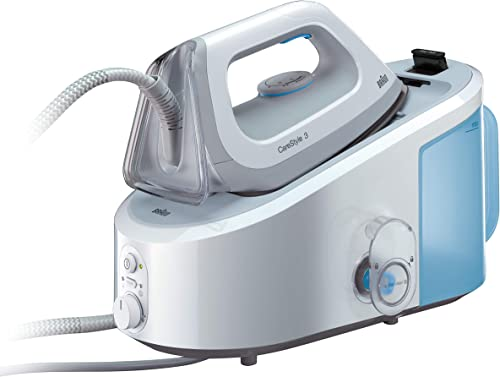 Braun CareStyle 3 Steam Generator, Ironing Station, IS3045WH, White