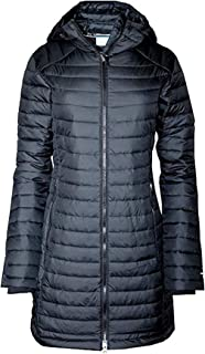 Women's White Out Mid Omni Heat Long Hooded Light Jacket...