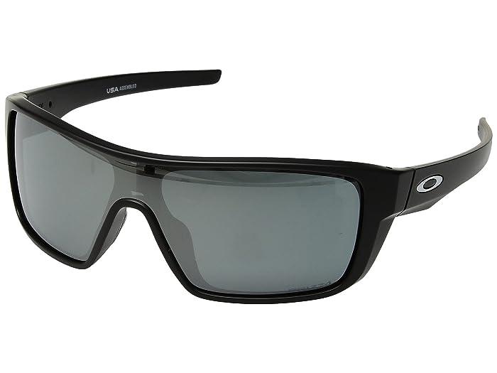 Oakley Straightback (Matte Black w/ Prizm Black) Athletic Performance Sport Sunglasses