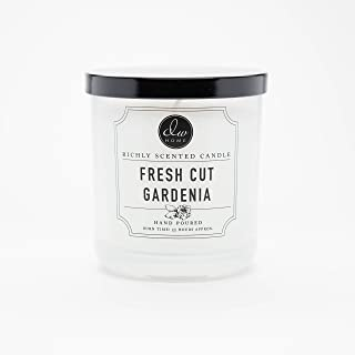DW Home Medium Single Wick Candle, Fresh Cut Gardenia