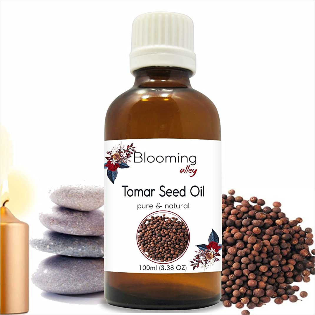 ストレージ豚ロマンスTomarseed Oil(Zanthozylum Armathum) Essential Oil 100 ml or 3.38 Fl Oz by Blooming Alley