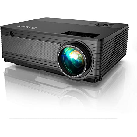 YABER Y21 Native 1920 x 1080P Projector 7000L Upgrad Full HD Video Projector, Support 4k & Zoom, Home & Outdoor Projector Compatible w/TV Stick,HDMI,VGA,USB, iPhone,Android,Laptop,PS4,Xbox