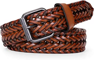 Best braided leather belt with leather buckle Reviews