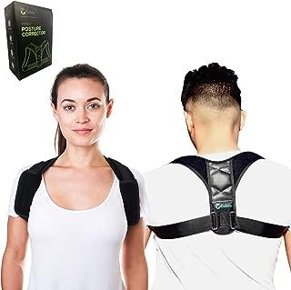Cobie Posture Corrector for Women and Men - FDA Approved Orthopedic Upper Back Brace for Poor Posture & Clavicle Support - Back Straightener - Posture Trainer for Relief of Neck, Shoulder & Back Pain