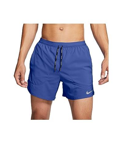Nike Flex Stride Shorts 5 BF (Astronomy Blue/Reflective Silver) Men