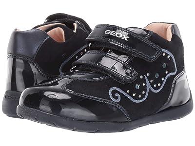 Geox Kids Kaytan 60 (Toddler) (Dark Blue) Girls Shoes