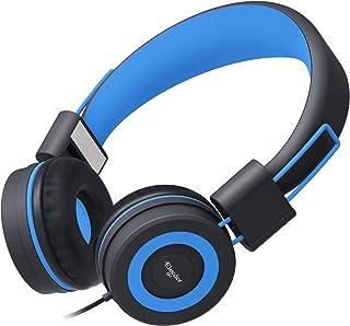 Elecder i37 Kids Headphones Children Girls Boys Teens Foldable Adjustable On Ear Headphones 3.5mm Jack Compatible iPad Cel...