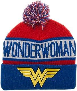 Bioworld Wonder Woman Reflective Cuff Beanie