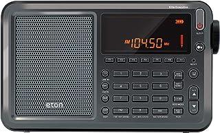 Eton E1 Portátil Digital Acero Inoxidable - Radio (Portátil, Digital, 87.00-108.00 MHz, 520-1710 kHz, 1711-29995 kHz, 10.1 cm)