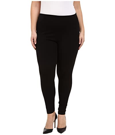 Lysse Plus Size Denim Leggings (Black) Women