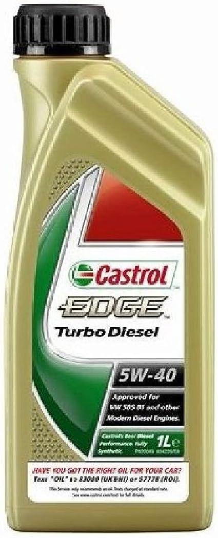 Castrol 51927 12 Edge Motoröl Titanium Fst Turbo Diesel Sae 5w 40 12 X 1 Liter Auto
