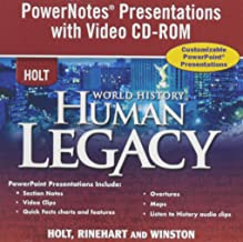 World History: Human Legacy: Powernotes Presentations With Video CD-ROM