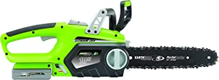 Earthwise LCS32010 10-Inch 20-Volt Lithium Ion Cordless Electric Chain Saw