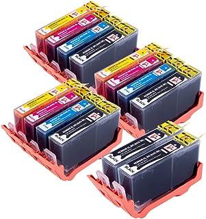 14 cartuchos de tinta compatibles de alta capacidad para impresoras 364 XL para HP Photosmart 5510 5511 5512 5514 5515 6510 6512 6515 7510 7515 B010a B109a B109d B109f B110a B110c B110e HP Photosmart Plus B209a B209c B210a B210c HP Deskjet 3070A 3520 Officejet 4610 4620 Impresoras