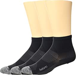 Elite Ultra Light Quarter 3-Pair Pack