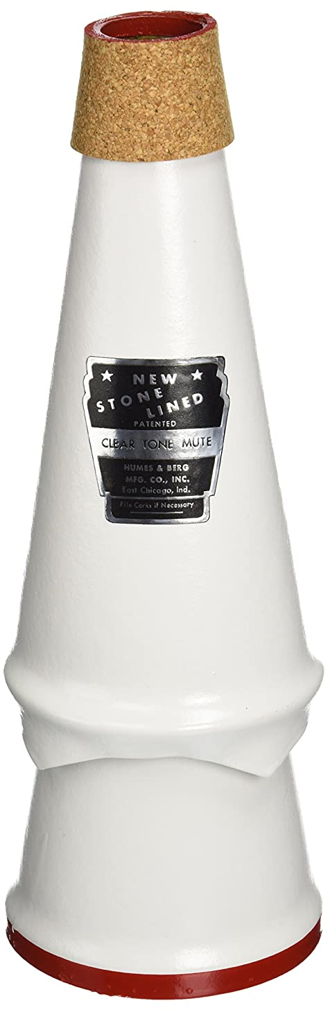 Humes & Berg Stonelined Cleartone Trombone Mute (153)