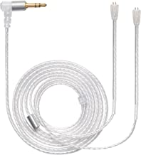 MOKOSE Replacement Upgrade Balanced Cable Silver Plated Audio Wire for Ultimate UE TripleFi 10 15vm TF10 TF15 Super.Fi 3 / 5pro 5EB Earphone