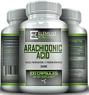 ARACHIDONIC ACID 350mg (10%) by Element Nutraceuticals