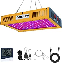 600W LED Plant Grow Light - Full Spectrum LED Plant Growing Lamp with Veg and Bloom Switch for Hydroponic Greenhouse Indoor Plants Veg and Flower(Dual-Chip 10W LEDs)