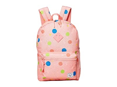 Herschel Supply Co. Kids Heritage Youth XL Backpack (Youth) (Primary Polka) Backpack Bags