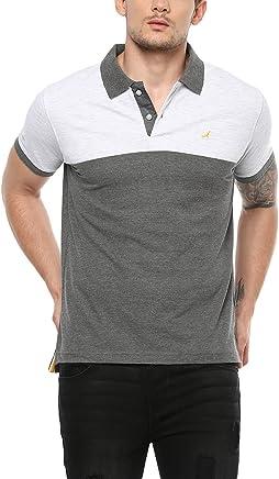 AMERICAN CREW Men's Cotton Polo T-Shirt